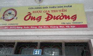 Mua rượu nếp cái hoa vàng ở tại Hà Nội