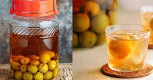 Hướng dẫn ngâm rượu mơ mật ong thơm ngon, bổ dưỡng